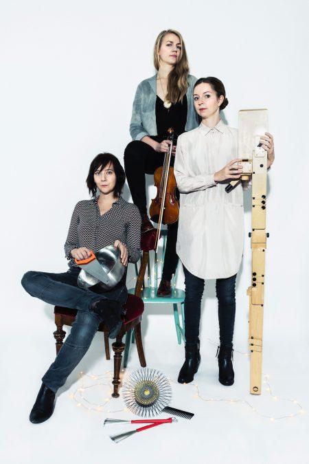 Photo of Faint Noise trio.